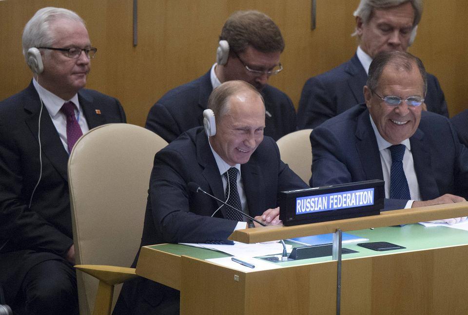 Władimir Putin i Siergiej Ławrow