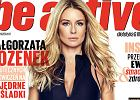 Małgorzata Rozenek na okładce magazynu Chodakowskiej. Wygląda zjawiskowo, ale...