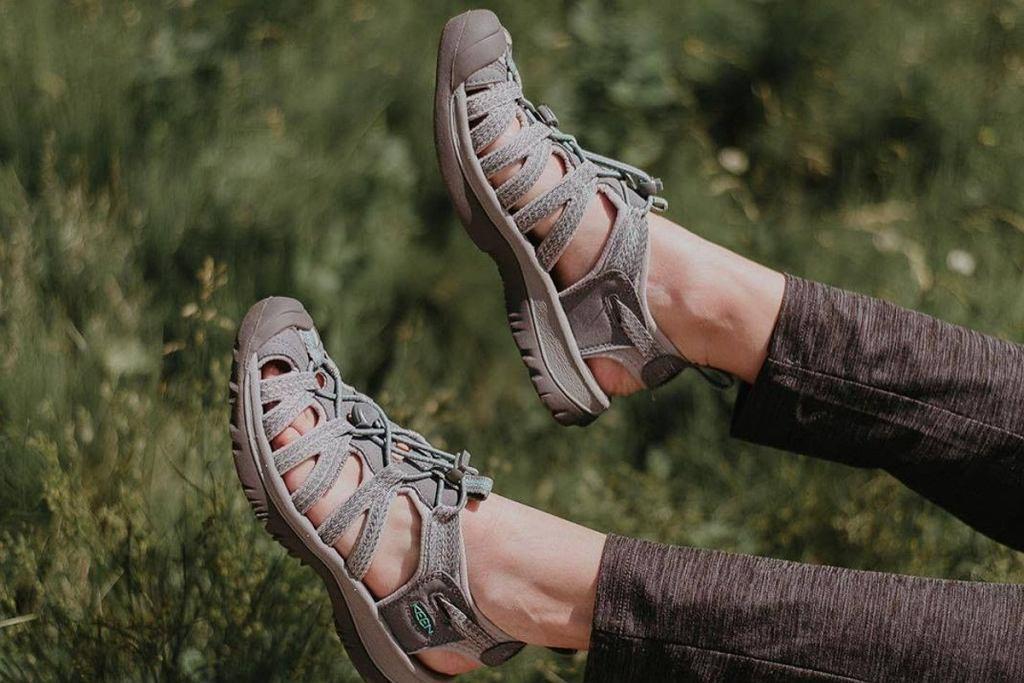 wygodne sandały trekkingowe