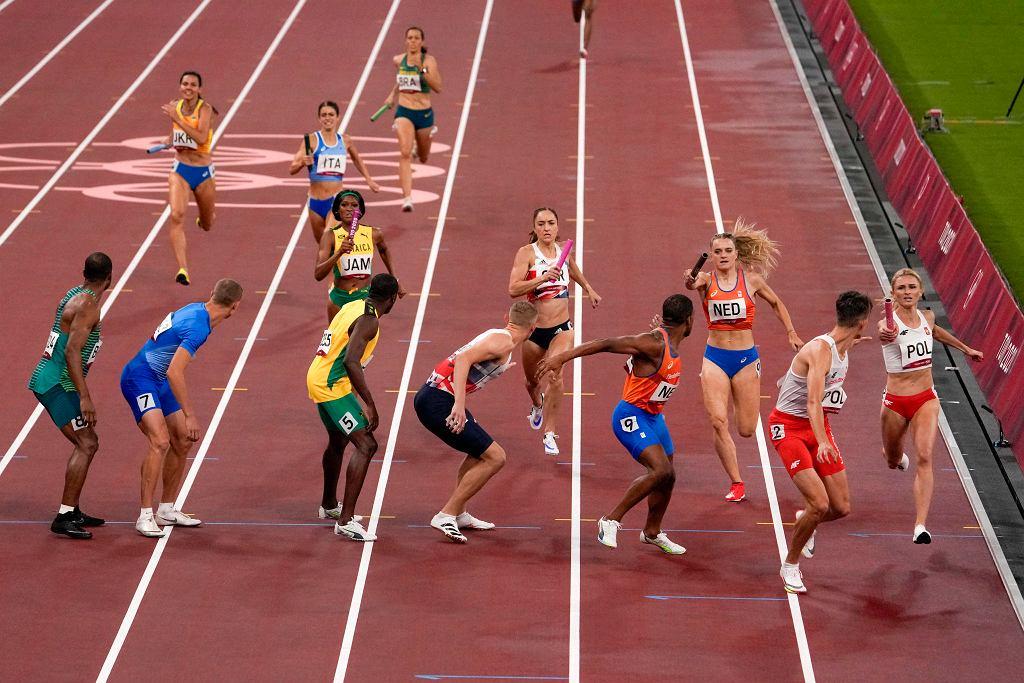 Tokio 2020. Tokio 2020. Amerykańska sztafeta mieszana 4x400 m zdyskwalifikowana, ale jednak pobiegnie w finale