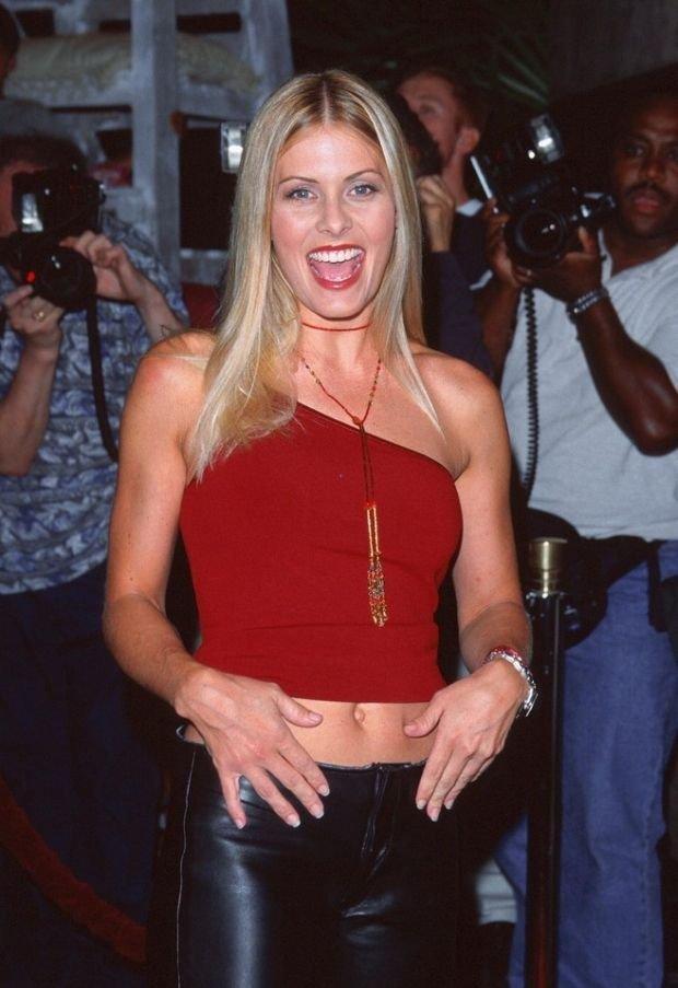 Nicole Eggert w 2000 roku