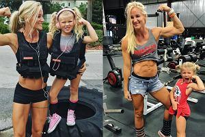 Mama ćwiczy z córką i podbija Instagram