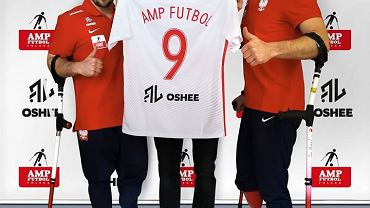 Robert Lewandowski sponsorem reprezentacji Polski w amp futbolu