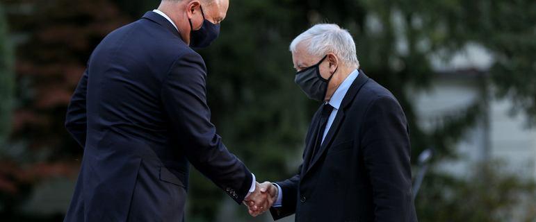 Wielki chłód między Dudą a Kaczyńskim. W PiS-ie słychać: relacje nie istnieją