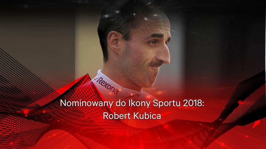 Zdjęcie numer 2 w galerii - Ikona Sportu 2018 - Robert Kubica