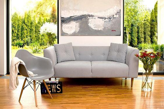 Szara sofa