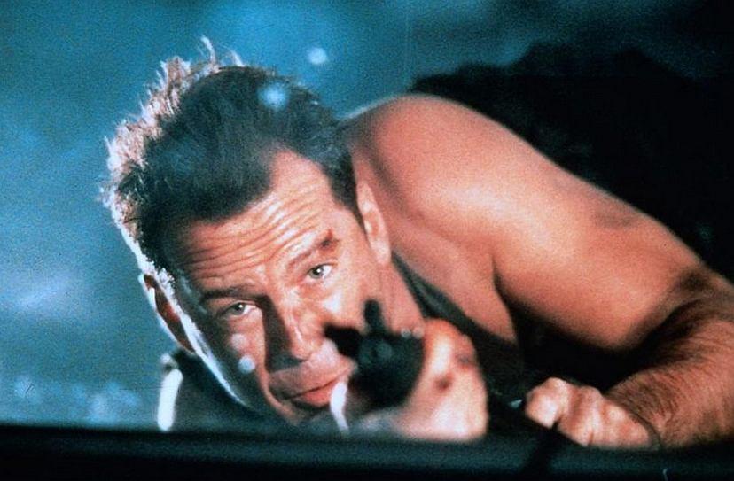 Kadr z filmu 'Szklana pułapka'
