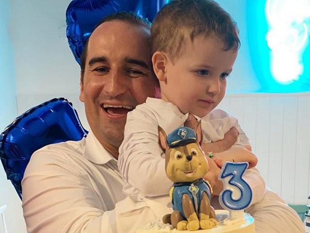 Misiek Koterski świętuje trzecie urodziny syna