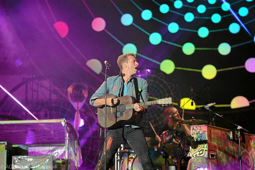 Coldplay na Stadionie Narodowym w Warszawie w 2012 r. / COLDPLAY  FOT. ADAM STĘPIEŃ