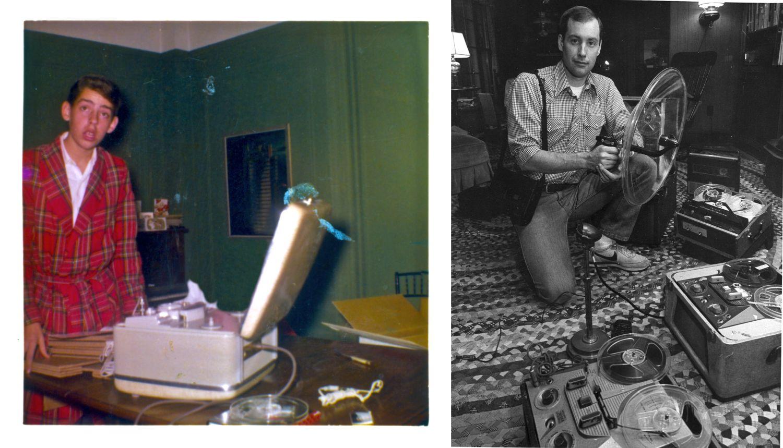 Początki wybitnych dźwiękowców - z lewej Walter Murch, z prawej Ben Burtt (mat. prasowe)