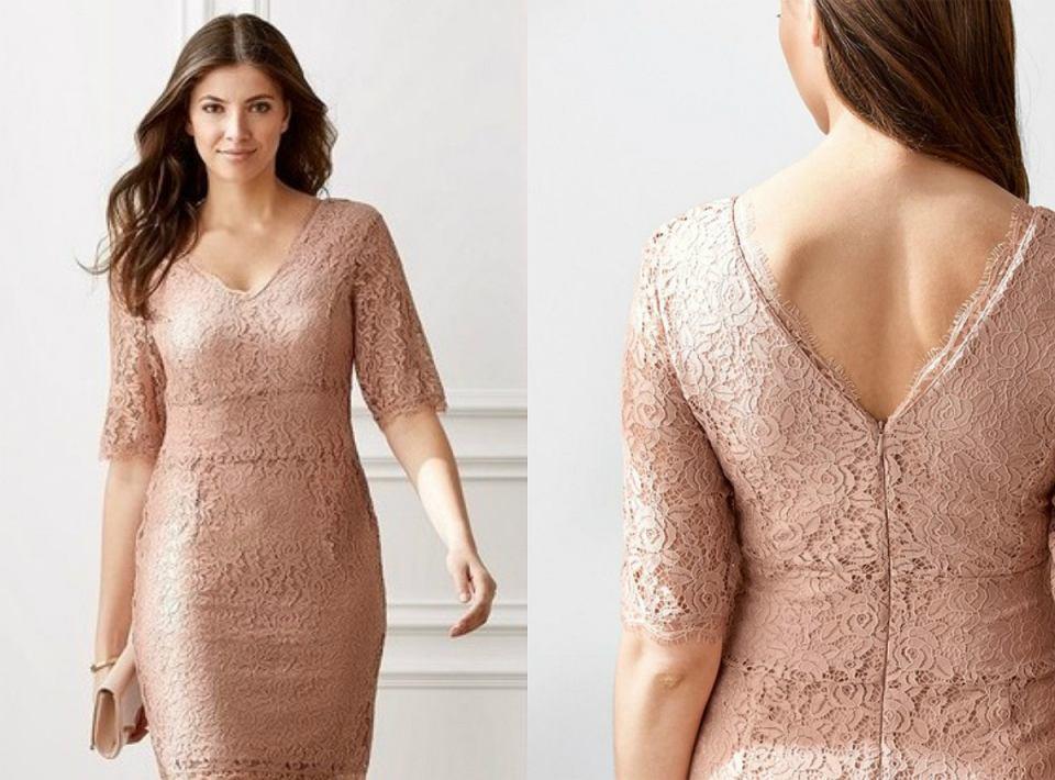 Sukienka z koronki Lidl
