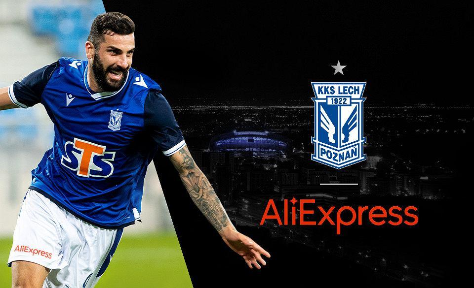 AliExpress nowym sponsorem Lecha Poznań