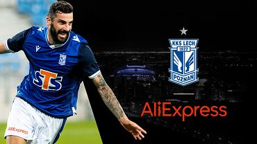 AliExpress sponsorem Lecha Poznań. Polski klub piłkarski nawiązał współpracę z chińskim gigantem