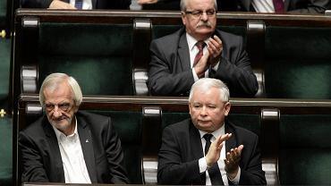 Ryszard Terlecki, Jarosław Kaczyński, Leonard Krasulski