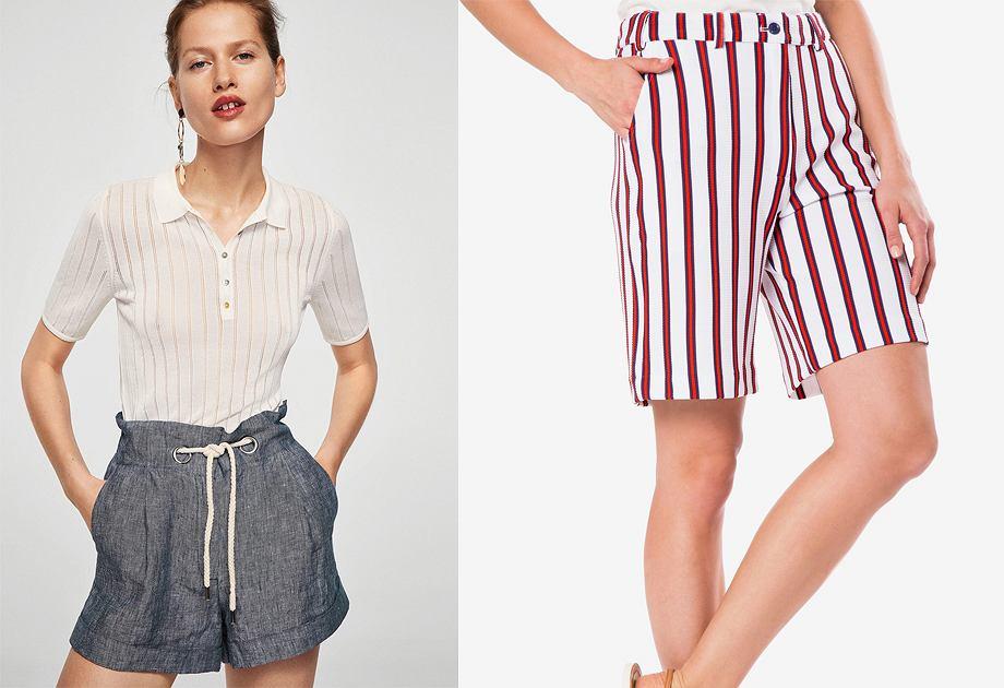 ecca2e07 Szorty na każdą sylwetkę - modne stylizacje. Jak nosić szorty niezależnie  od rozmiaru i wieku