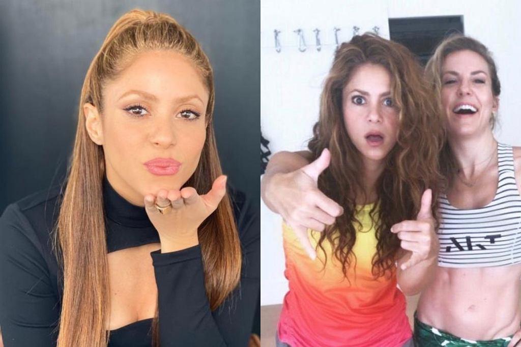 Shakira - trening
