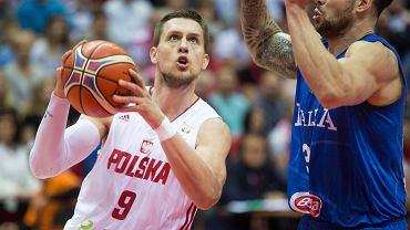 Polscy koszykarze rozgromili Tunezję. Powrót Ponitki