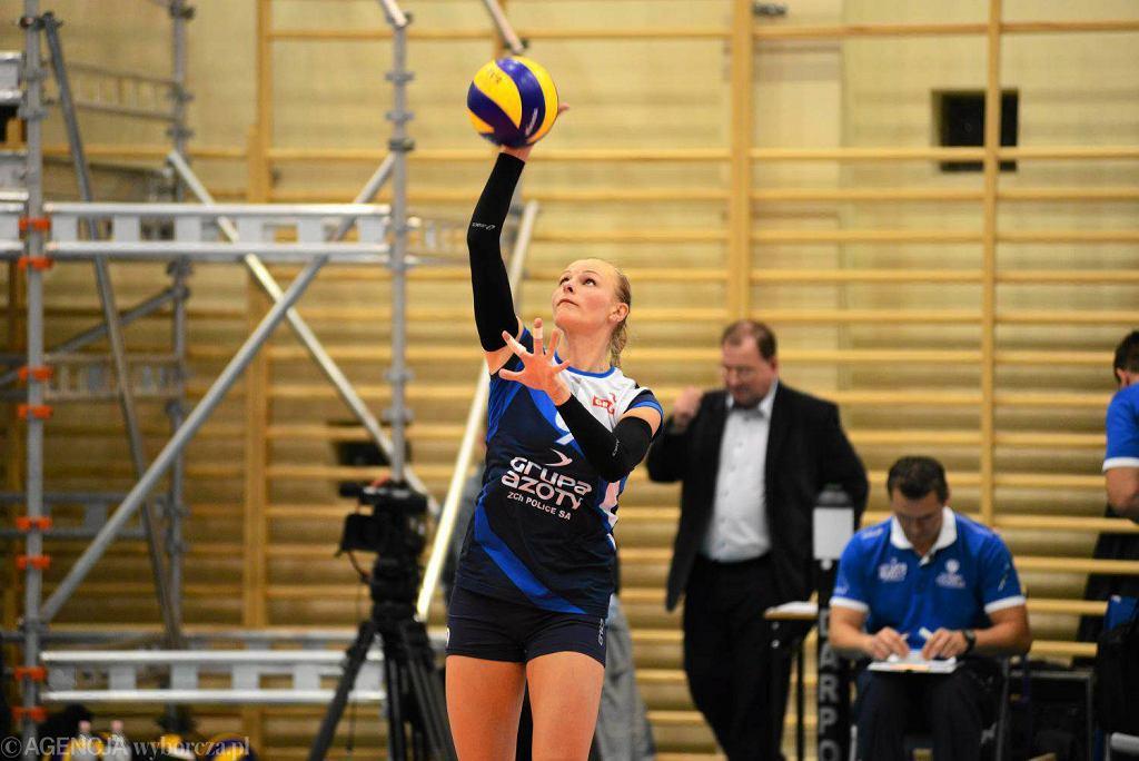 Agata Sawicka - MVP meczu w Dąbrowie