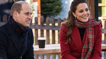 Księżna Kate i książę William w podróży po Wielkiej Brytanii