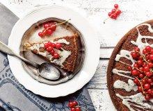 Ciasto cytrynowe z porzeczkami - ugotuj