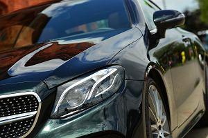 Mercedes E300 Coupe - komfort i elegancja
