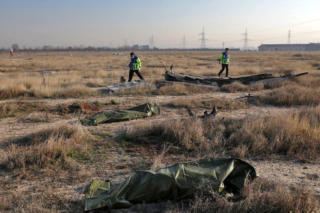 Katastrofa ukraińskiego Boeinga w Iranie. Teheran, 8 stycznia 20120