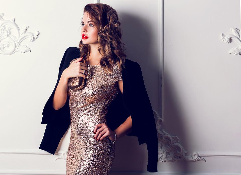 Elegancka suknia na karnawał