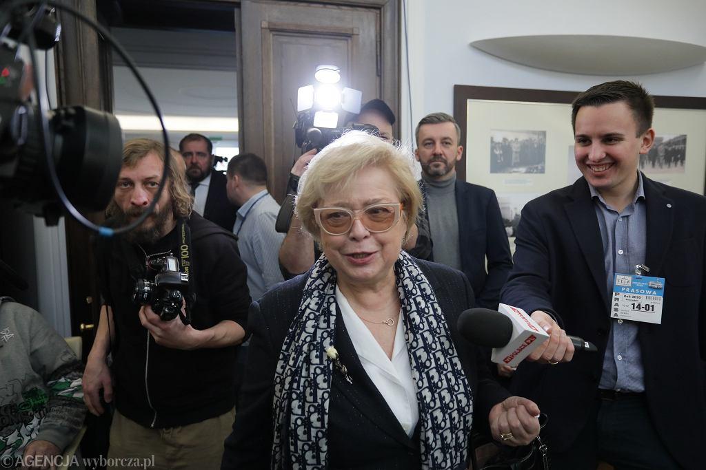 Prezes Sądu Najwyższego Małgorzata Gersdorf .