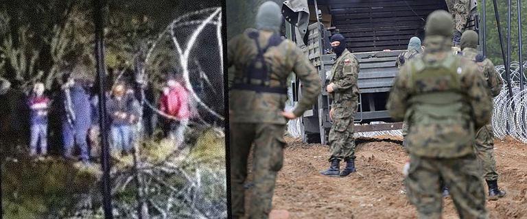 """SG o próbie """"forsowania"""" granicy. """"Broniliśmy wspólnie z żołnierzami"""""""