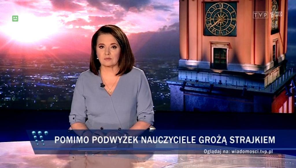Nauczycielka: 'Wiadomości' TVP zmanipulowały moją wypowiedź