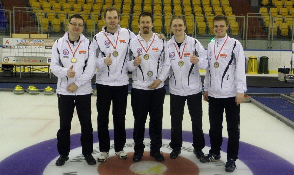 Zespół Sopot Curling Club Wa ku'ta po raz drugi w historii został mistrzem Polski w curlingu