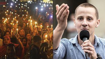 Gdy cały świat oddaje hołd ofiarom zamachu, Jacek Międlar oddaje hołd terroryście