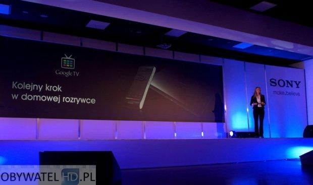Konferencja Sony 2012 - Google TV