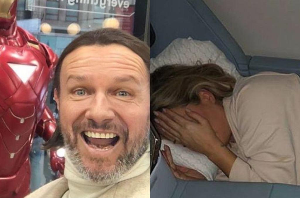 Radosław Majdan i Małgorzata Rozenek polecieli do USA