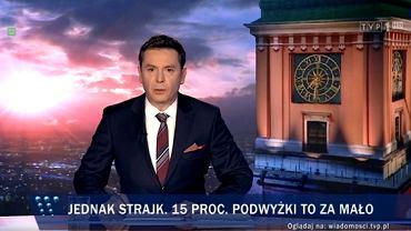 'Wiadomości' TVP z 8 kwietnia 2019 roku