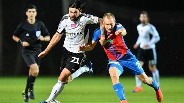Ivica Vrdoljak w meczu sparingowym Legia - Viktoria Pilzno