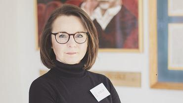 Katarzyna Fligier, tłumaczka i nauczycielka języka francuskiego w V LO w Zielonej Górze.