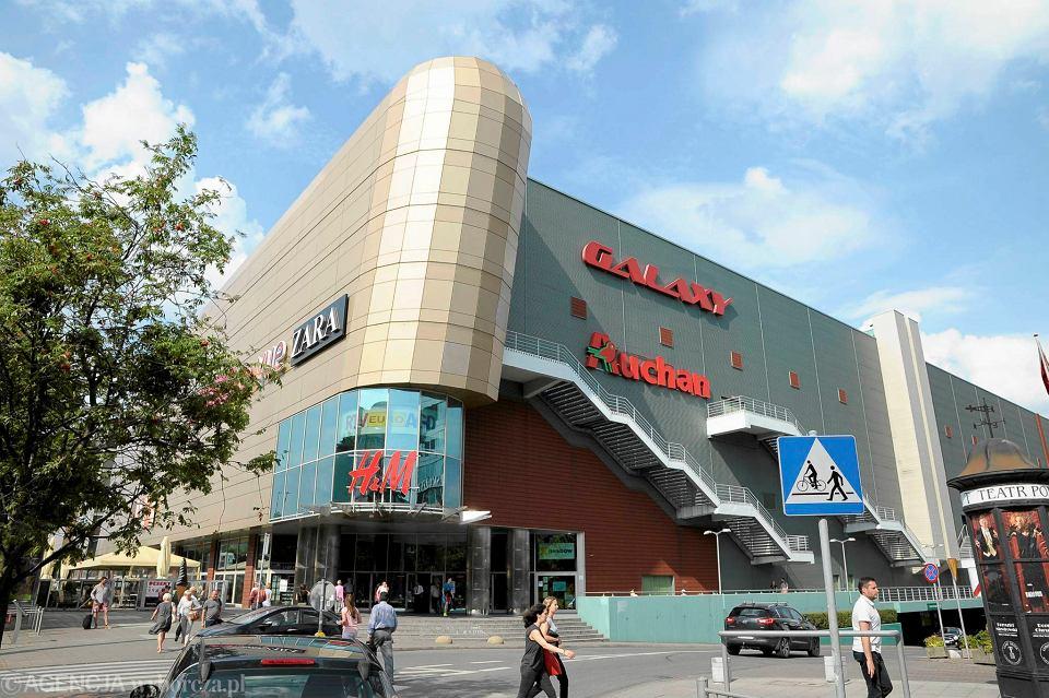 Centrum Handlowo Rozrywkowe Galaxy zamknięte do wieczora
