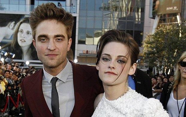 Robert Pattinson, Kristen Stewart.