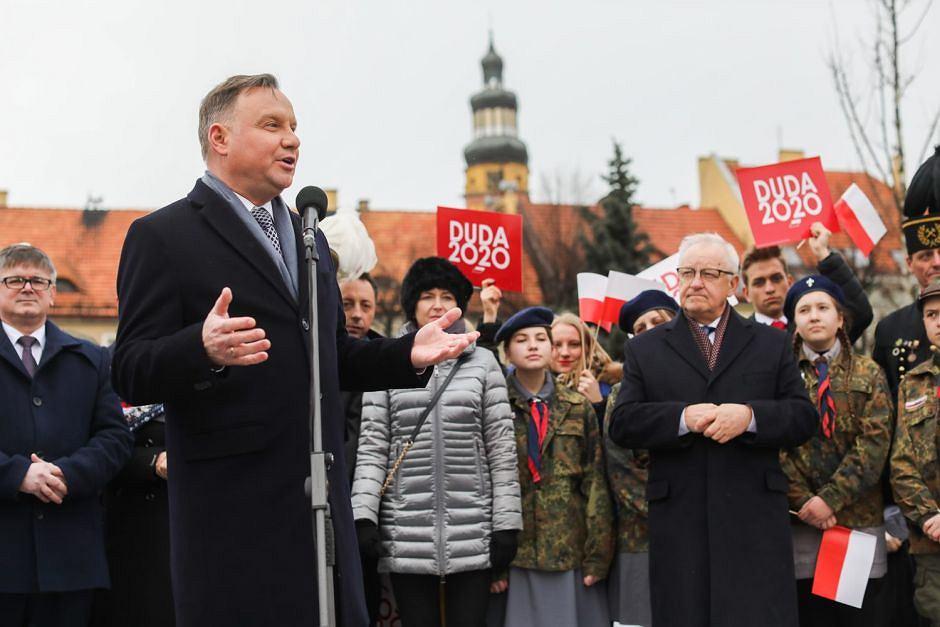 Andrzej Duda w Wodzisławiu Śląskim