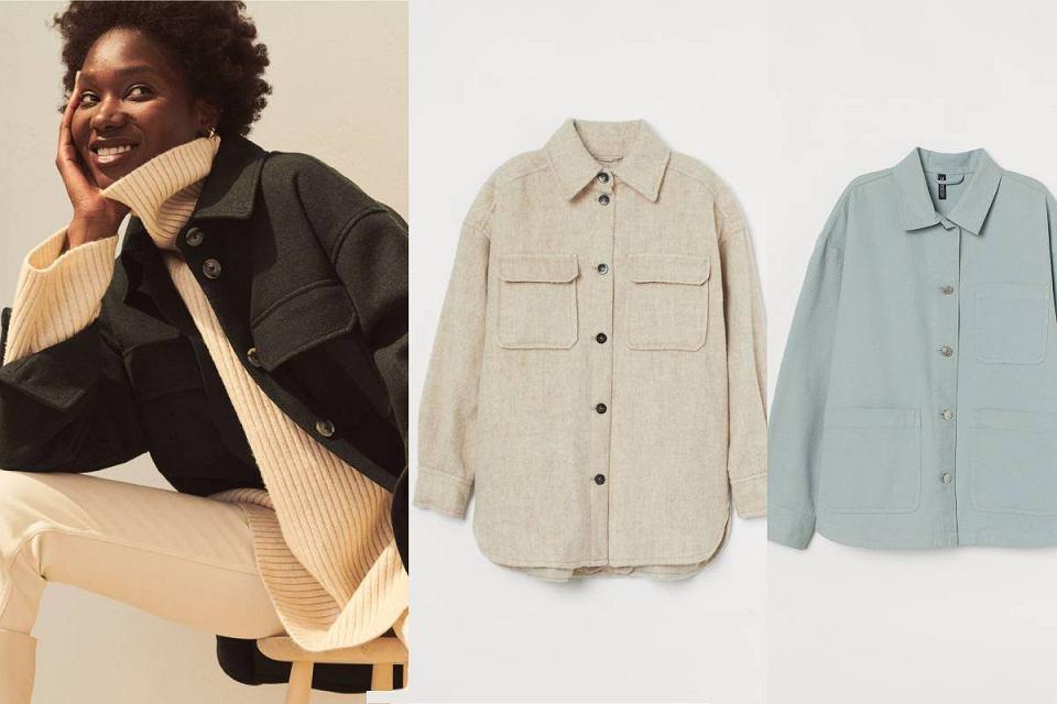 Kurtki koszulowe H&M