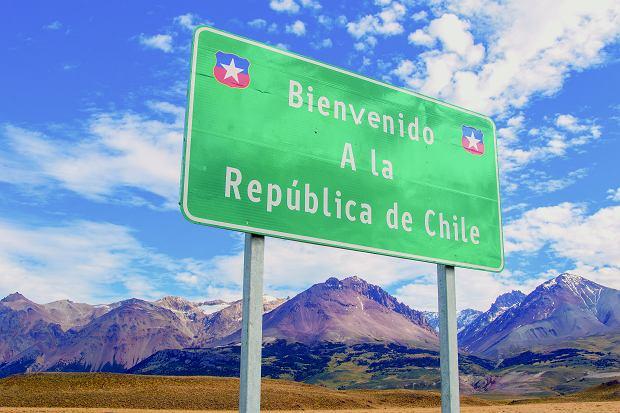 Granica argentyńsko-chiliska.