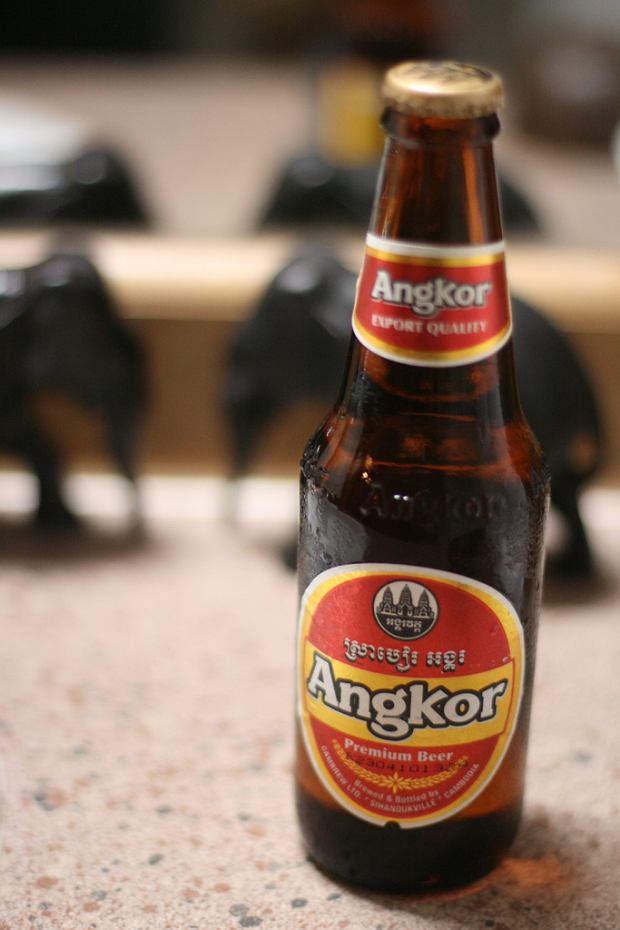 Angkor Beer / Flickr.com / Craigemorsels