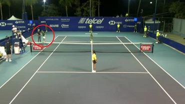 Damir Dżumhur został zdyskwalifikowany z kwalifikacji turnieju Acapulco Open po awanturze z sędzią