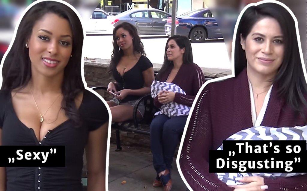 Sexy vs Breastfeeding in Public