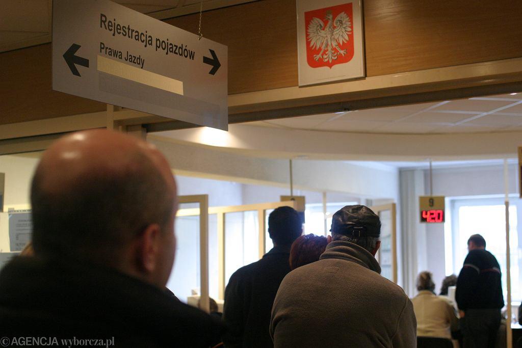 Rejestracja pojazdów, zdjęcie ilustracyjne