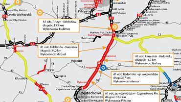 Autostrada A1 Tuszyn-Częstochowa