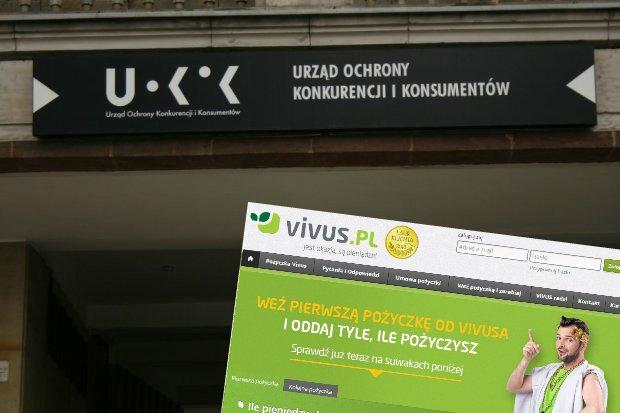 UOKiK sprawdził reklamy Vivus Finance
