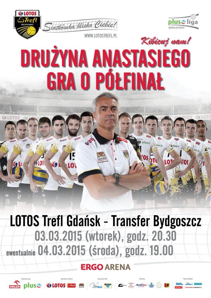 Lotos trefl Gdańsk gra o półfinał