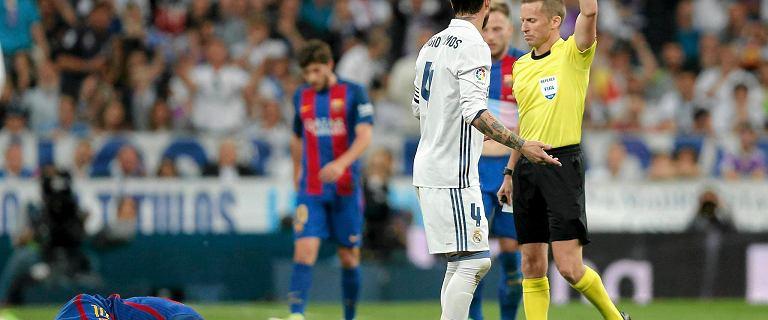 La Liga. Z sali operacyjnej na mecz Realu Madryt. Hiszpański sędzia liniowy jest jednocześnie chirurgiem plastycznym